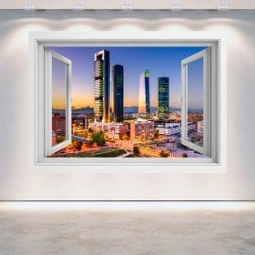 Windows 3D Madrid città finanziaria