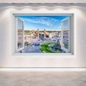 Windows 3D Barcellona