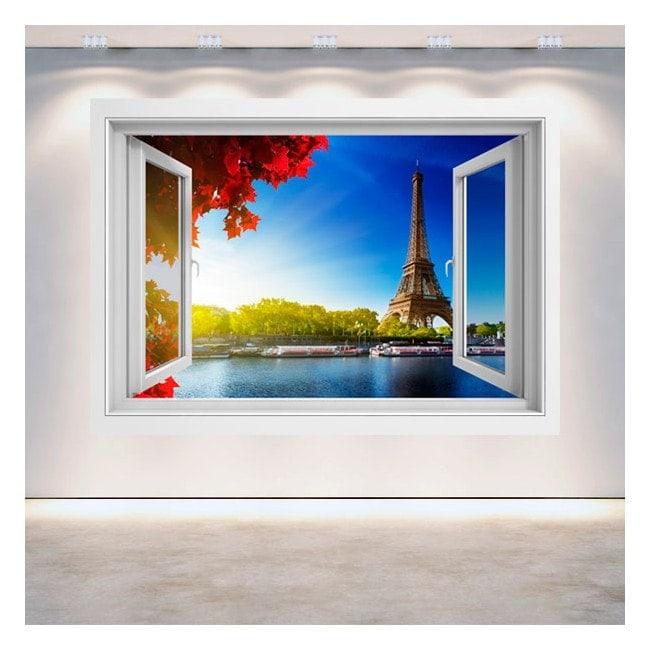 Windows 3D Torre Eiffel Parigi