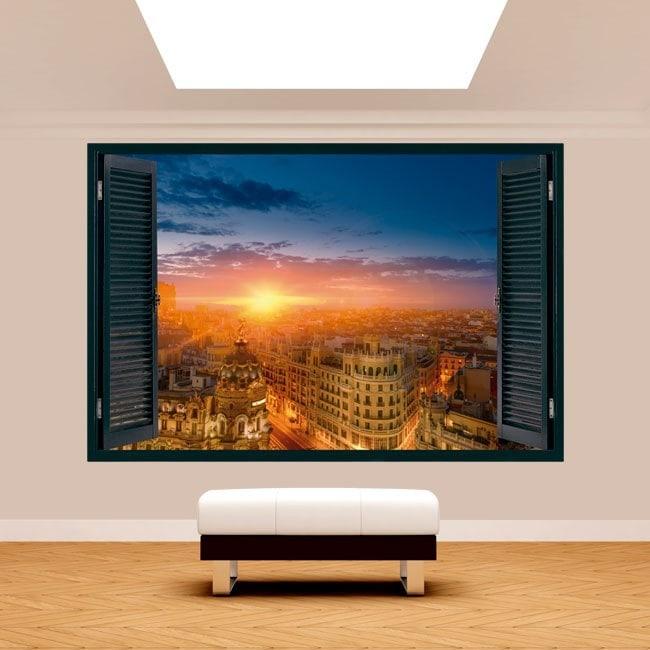 Tramonto Windows 3D Gran Via Madrid