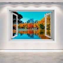 Finestra 3D Central Park New York