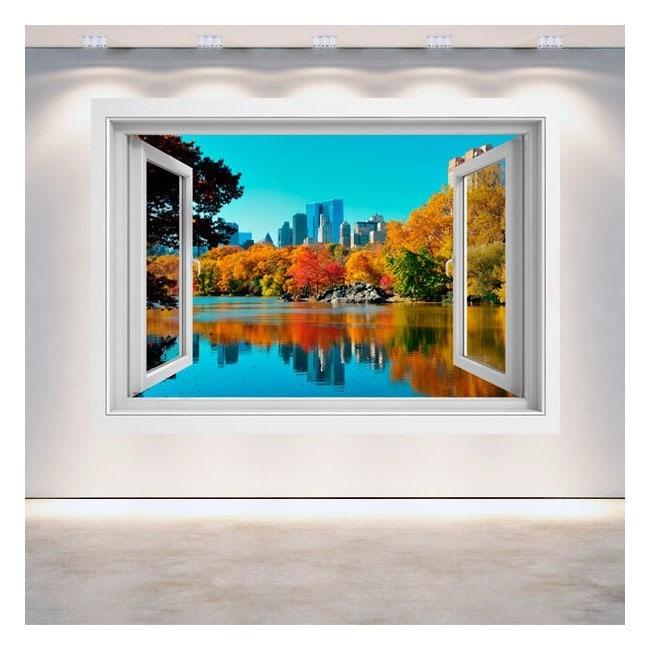Finestra 3D Central Park New York