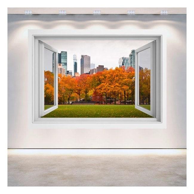 Windows 3D pareti Central Park New York