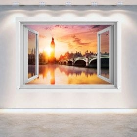 Tramonto di Big Ben Londra 3D di Windows