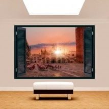 Tramonto di Plaza San Marco 3D di Windows