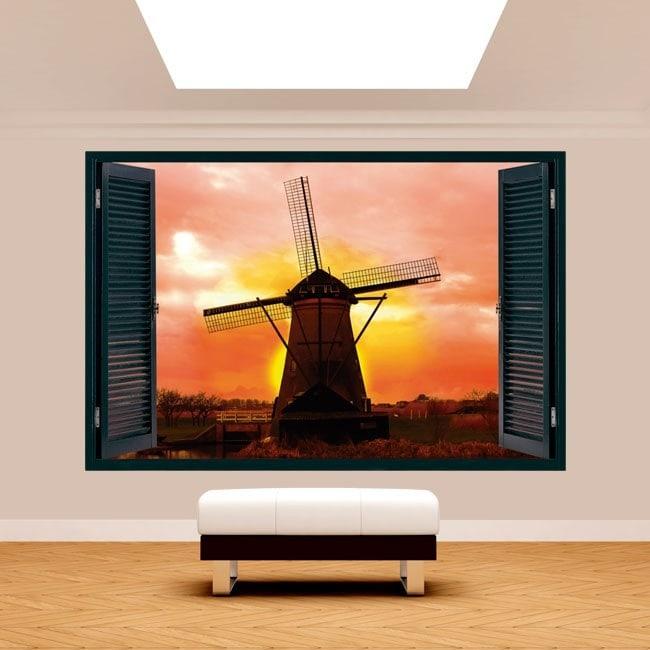 Mulino 3D Windows Holland