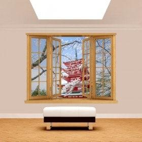 Windows 3D Pagoda Giappone