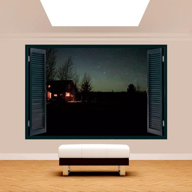 Cabina 3D Windows in natura