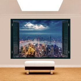 Finestra 3D New York