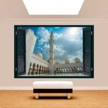Moschea di 3D Windows Sheikh Zayed