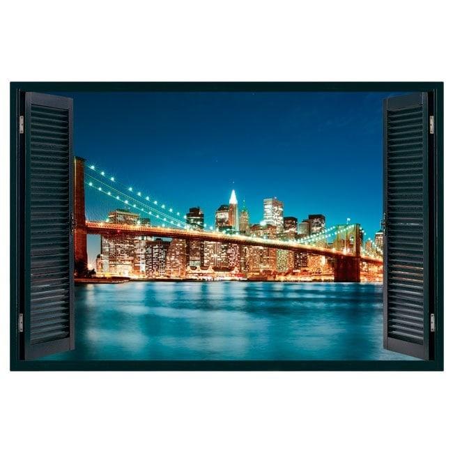 New york city finestra 3d italian 5100 for Finestra new york