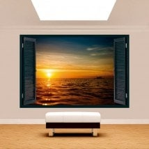 Mare tramonto 3D di Windows Italian 5125
