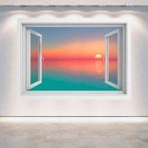 Colori di tramonto 3D di Windows