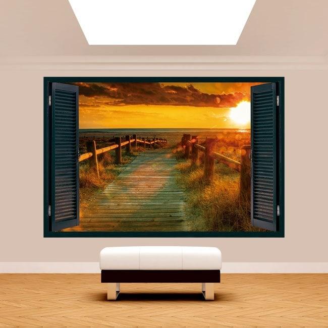 Windows 3D Sunset Beach