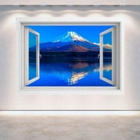 Finestra 3D Wall Mount Fuji