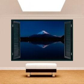 Windows 3D Lago Kawaguchi e Monte Fuji
