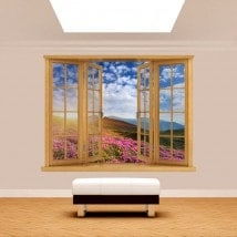 Fiori 3D Windows in montagna