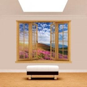 Fiori 3D Windows in montagna