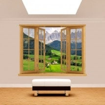 Montagne 3D Windows Funes Italia