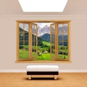 Montagne 3D Windows Funes Italia