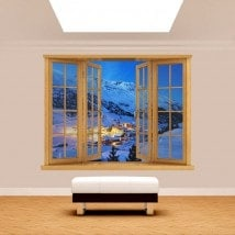 Montagne di Windows 3D Alpi Austria