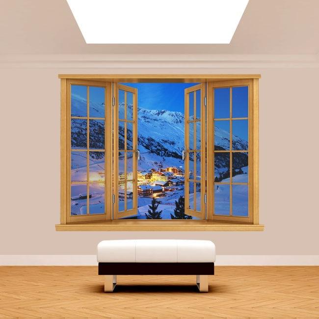 Montagne di Windows 3D Alpi Austria