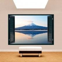 Windows 3D Monte Fuji Lago Kawaguchi
