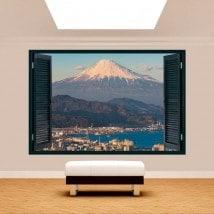 Città 3D Windows Monte Fuji
