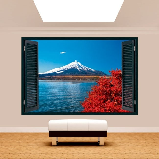 Windows 3D Lago Kawaguchi mt. Fuji