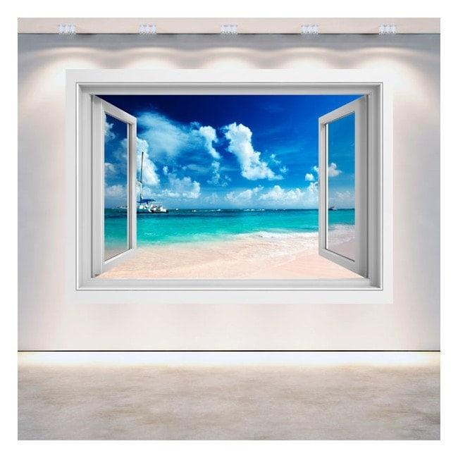 Finestra 3D Beach