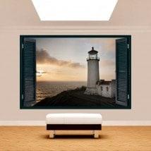 Costa di finestra 3D Faro Washington