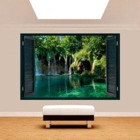 Cascate 3D Windows in natura