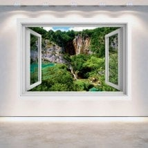 Cascate 3D Windows nelle montagne