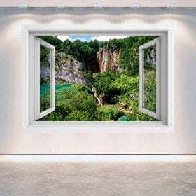 Cascate 3D Windows nelle montagne
