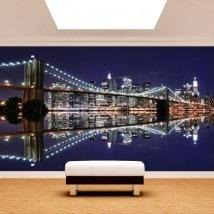 Fotomurali Manhattan Bridge Brooklyn