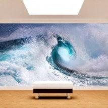 L'onda del mare Fotomural
