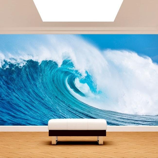 La grande ondata dei fotomurali mare