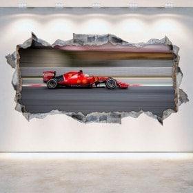 Auto 3D vinile Formula 1