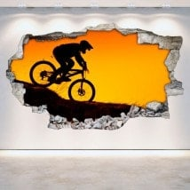 Mountain bike in vinile 3D