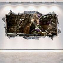 Vinile 3D Donatello la tartaruga Ninja