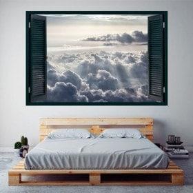 Windows 3D nuvole e raggi di sole