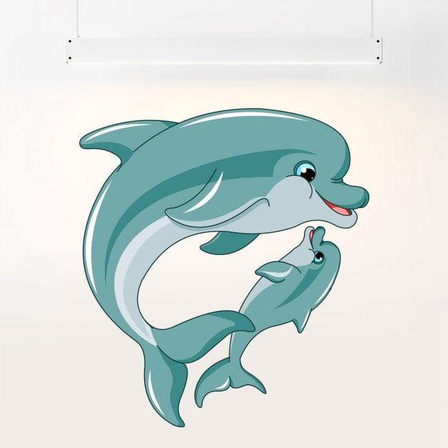 Delfini di in vinile per bambini