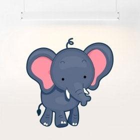 Elefante del bambino di vinile