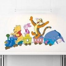Treno di vinile per bambini Winnie The Pooh