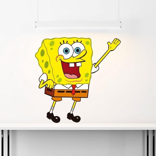 Adesivi in vinile per bambini di SpongeBob SquarePants