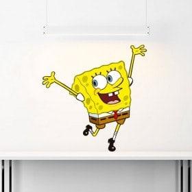 Adesivi e vinile Sponge Bob