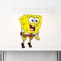 Adesivi in vinile Sponge Bob Italian 5511