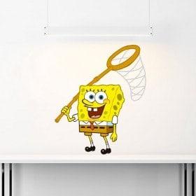 Vinile adesivo pareti Sponge Bob