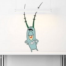 Adesivi di plancton Sponge Bob