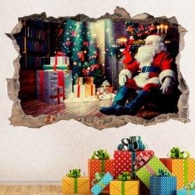 3D il Babbo Natale in vinile